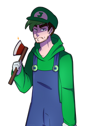 what do you call a plumber who chops wood? by Milk-Addicc