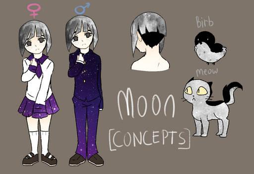 [Solar Sys-Gals Concept] Moon