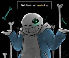 Spooky Scary Sans-a-ton