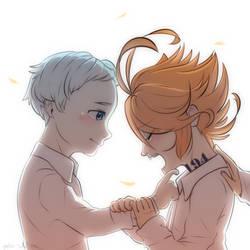 Norman + Emma by Milk-Addicc