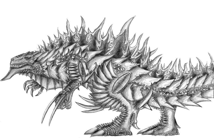 Dibujos Godzilla Raids Again 1955 Para Colorear: Godzilla: The Look/Appearance Speculation