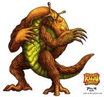 CKC Slugera: The Mollusca Shroom Monster by JAko-M