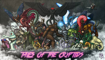 Tales of the Cryptids by JAko-M