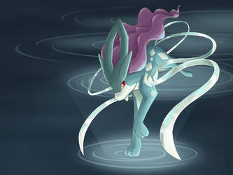 Suicune by tintinabar
