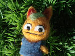 Creepy looking needle felted Tangy (AC)