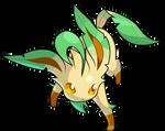 Pokemon Conquest - Leafeon