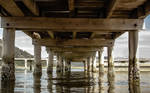 under the dock :)