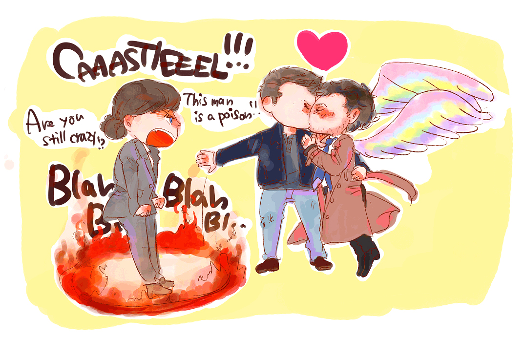 Which do you think will win, Naomi or Destiel? by nezirio
