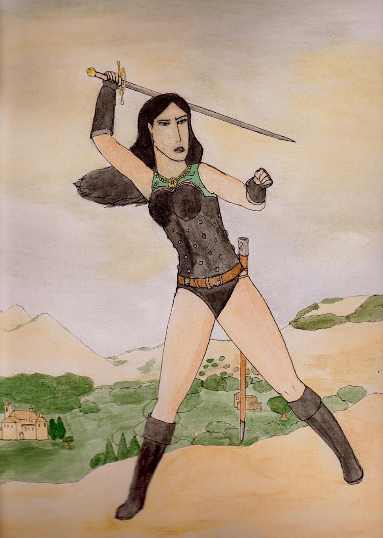 Esperanza Vivar of Isperia by toht981