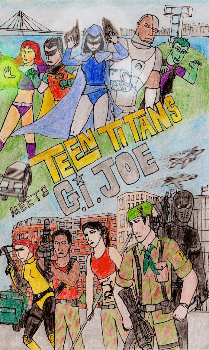 Teen Titans meets G. I. Joe by toht981