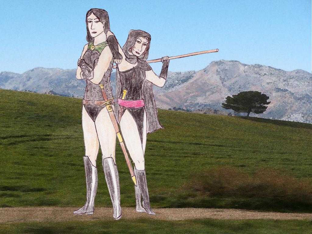 Esperanza and Sara by toht981