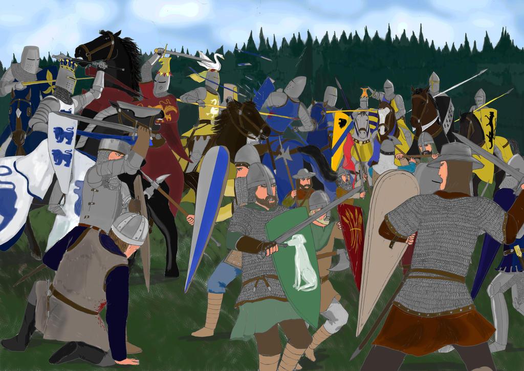 Britons against the Provences de Normund by toht981