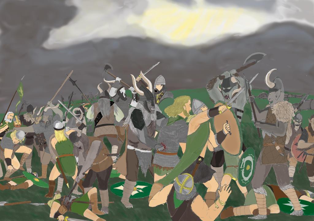 Saxons against Kraus by toht981