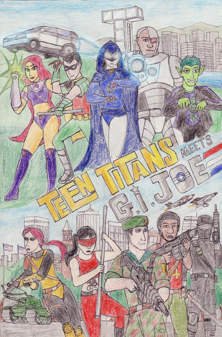 Teen Titans meets G.I. Joe Good guys by toht981