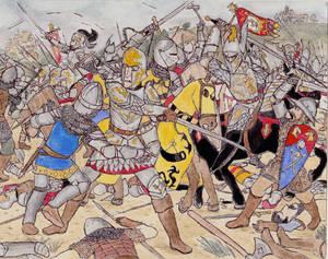 Knights of Chaldomaine vs Elves of Vitalia