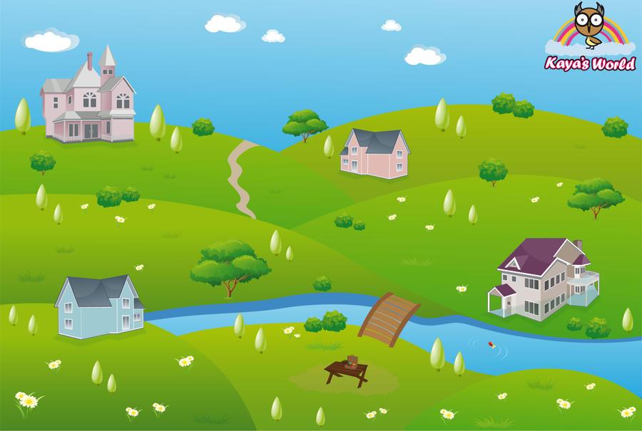 Kaya's Worldmap by Chiiizuka