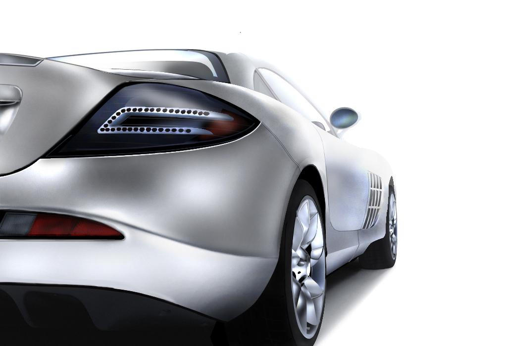 Mercedes slr by preet618