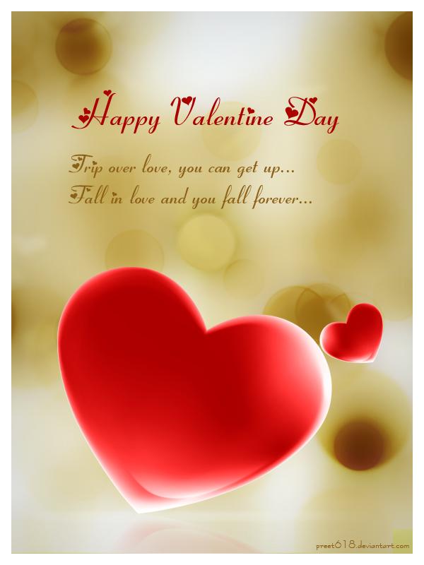 valentine greeting by preet618