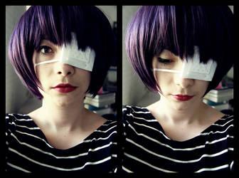 the girl x eyepatch by loonyclown