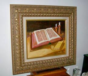 The bible(my version) by jeannettebourassa