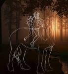 THATS ONE BIG HORSE  O u O