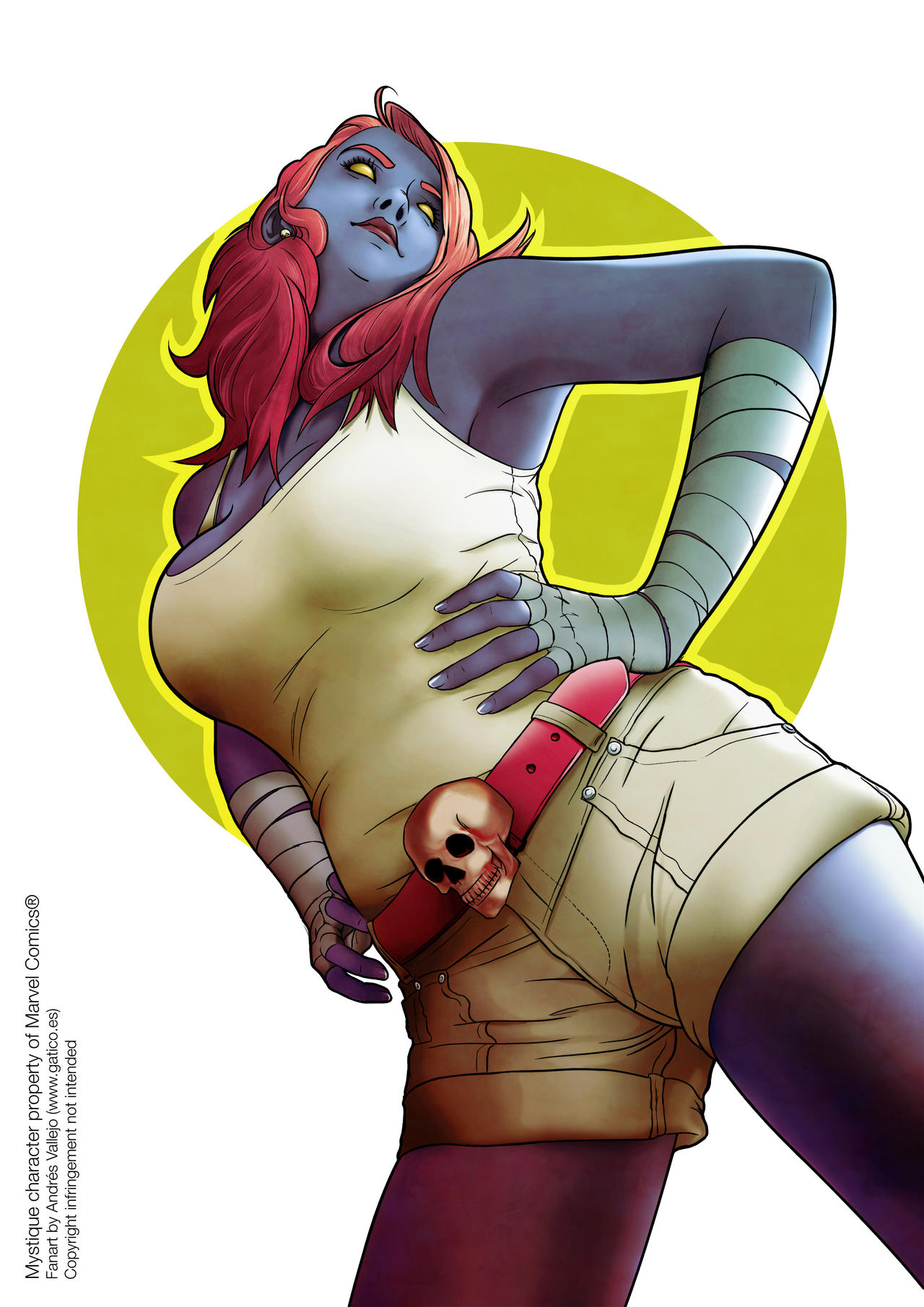 Mystique by gomitas