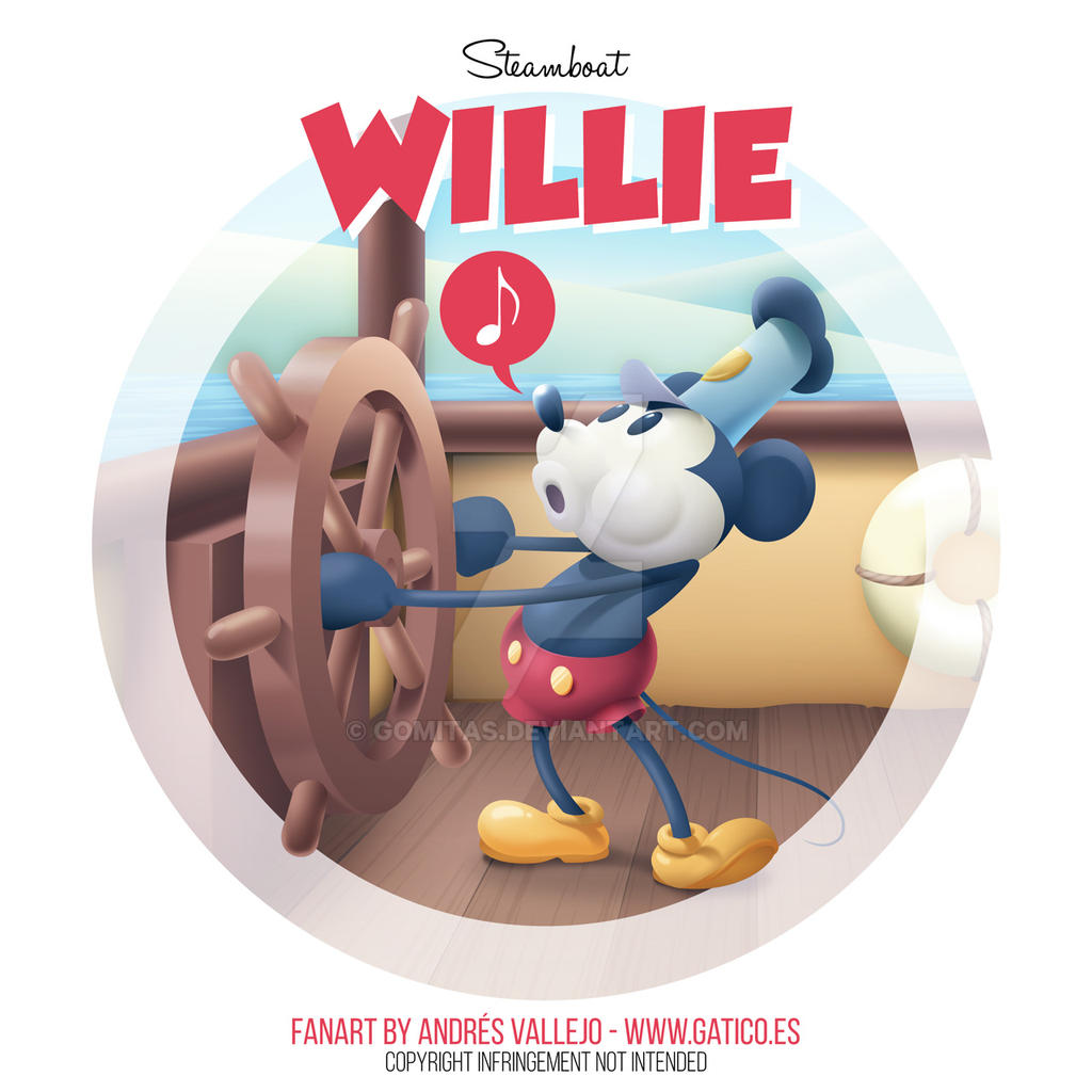 Steamboat Willie by gomitas