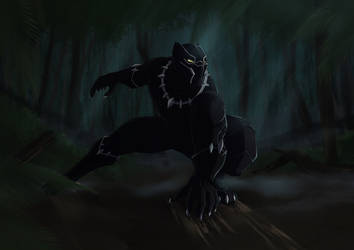 Black Panther by RoyK93