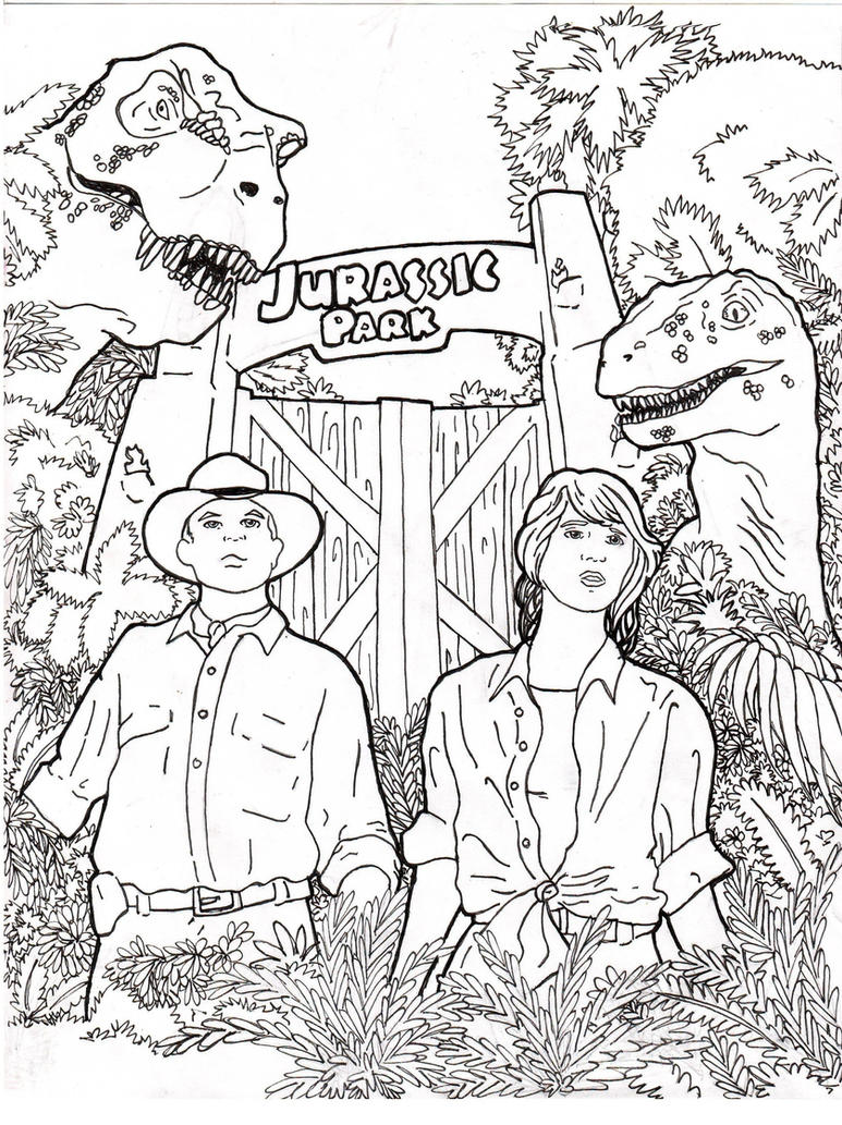 Jurassic park card 3 by chicagocubsfan24 on deviantart - Jurassic Park By Rennox