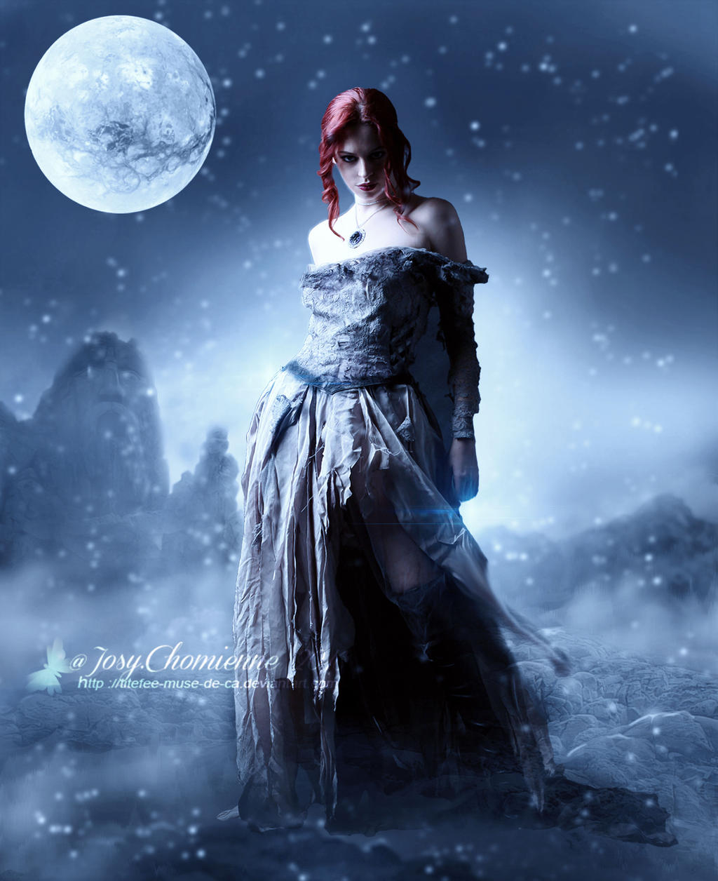 Snow Queen by titefee-muse-de-ca