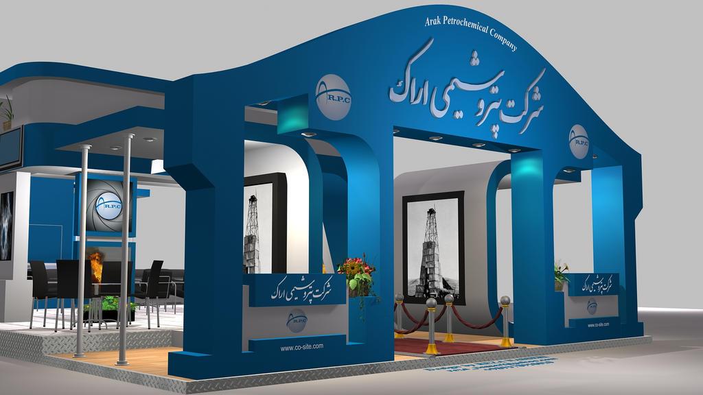 D Exhibition Stall Design : Shazand exhibition stall design by reza