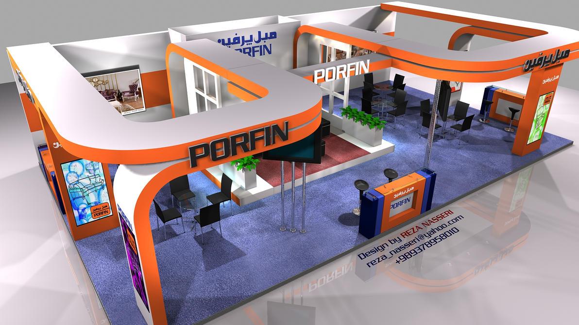 Exhibition Stall Designs D : Porfin exhibition stall design by reza nasser