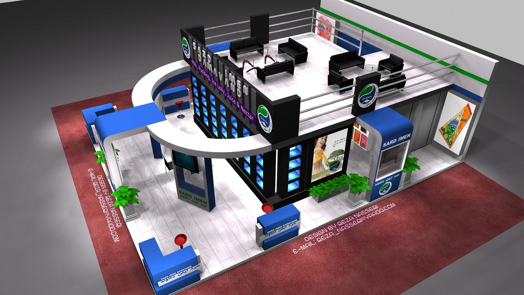 Exhibition Stall Design Software Free Download : Sard imen damavand exhibition stall design b by