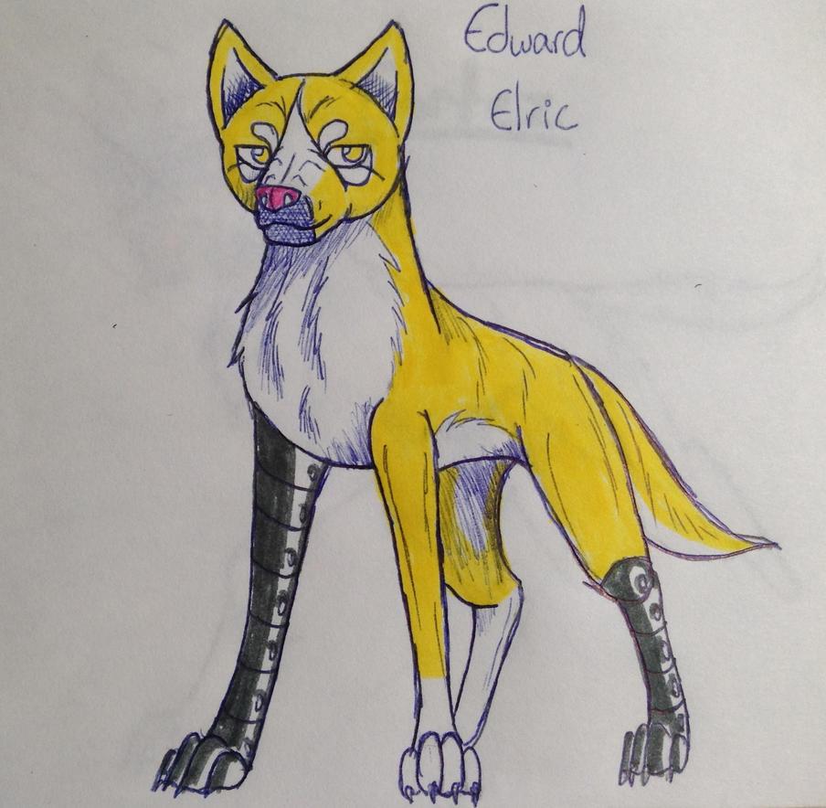 Edward Elric by yugiohfreakXD