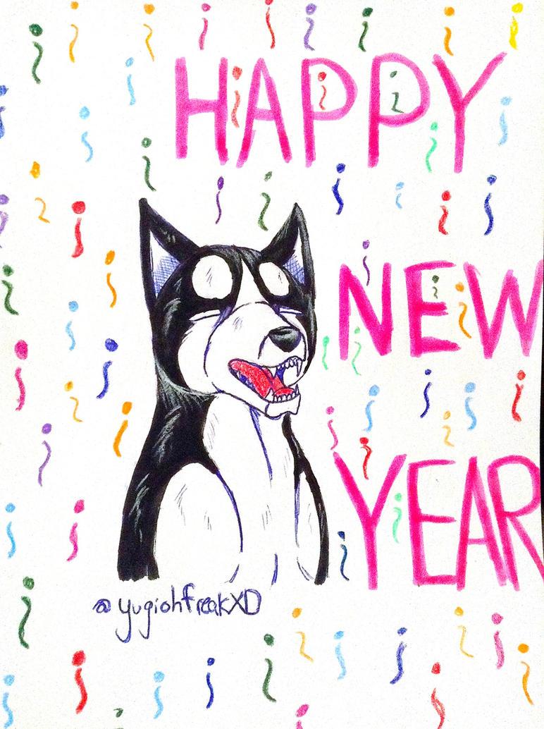 HAPPY NEW YEAR!!! by yugiohfreakXD