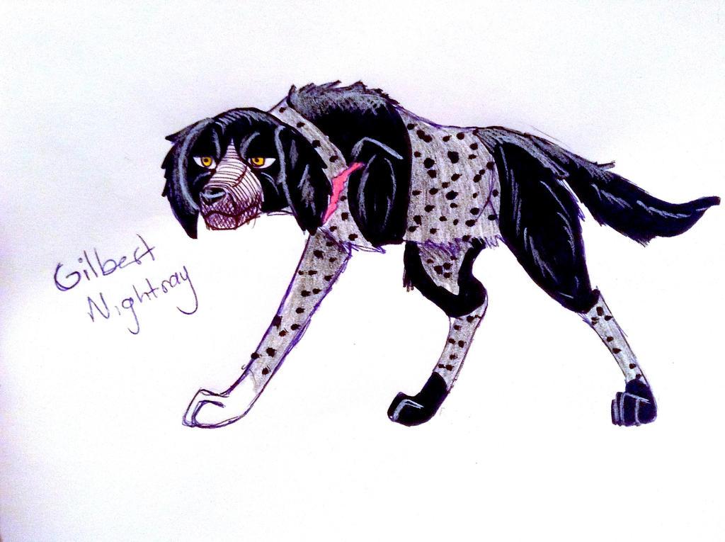 Gilbert Nightray by yugiohfreakXD