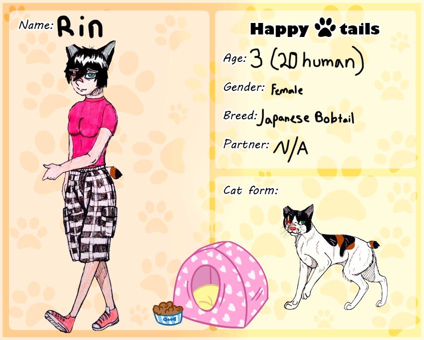 HT Cat App: Rin~ by yugiohfreakXD