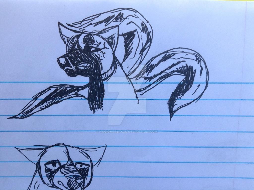 School Sketch #2 by yugiohfreakXD