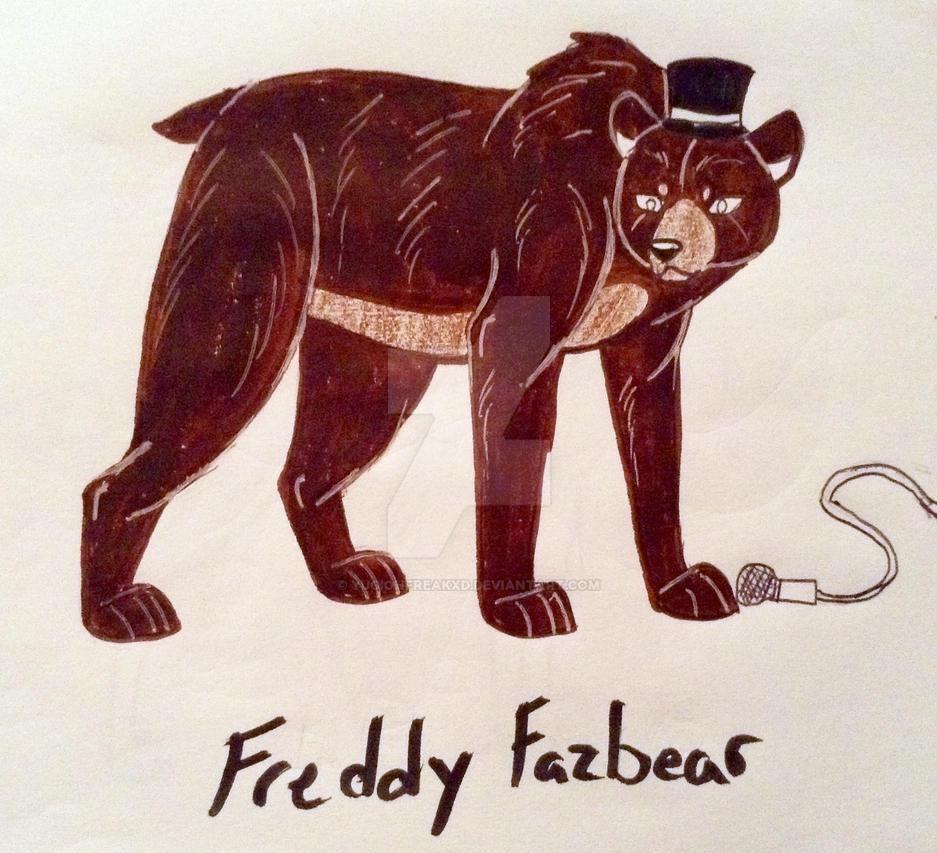 FNAF- Freddy Fazbear by yugiohfreakXD