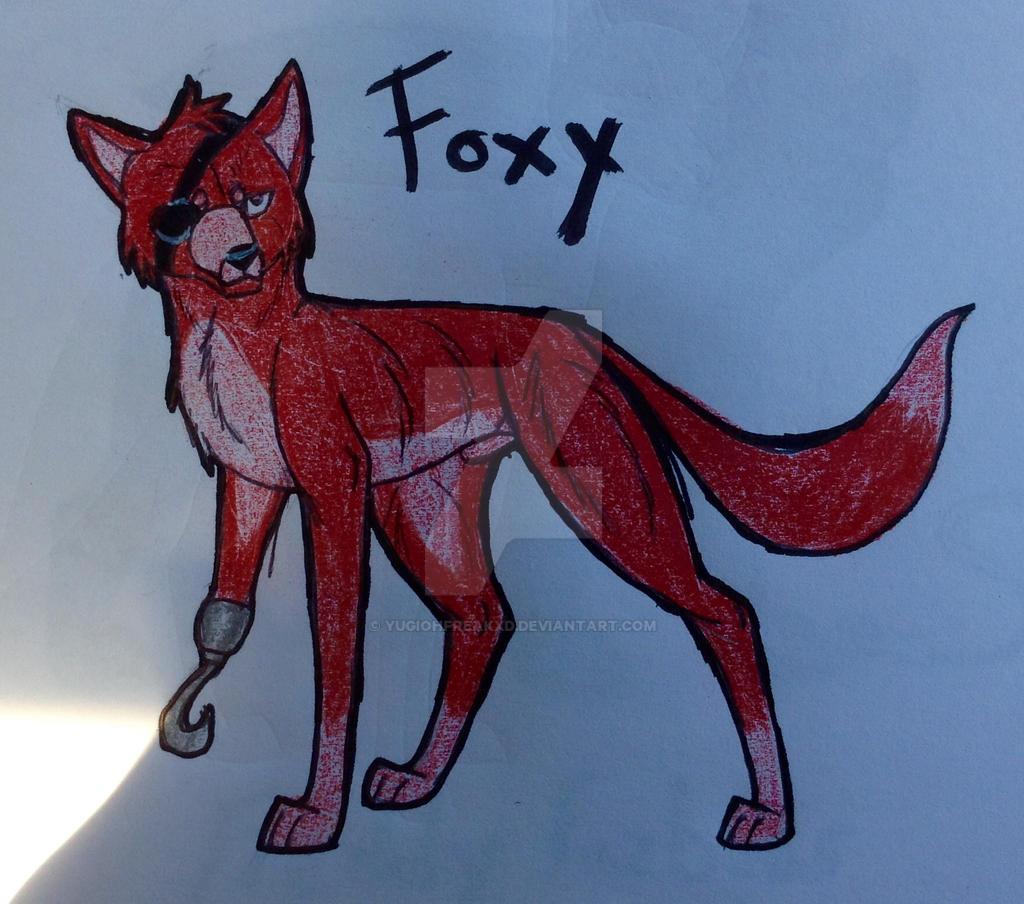 FNAF-Foxy by yugiohfreakXD
