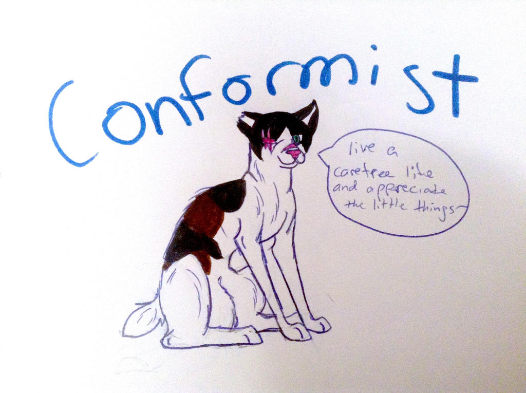 Conformist by yugiohfreakXD