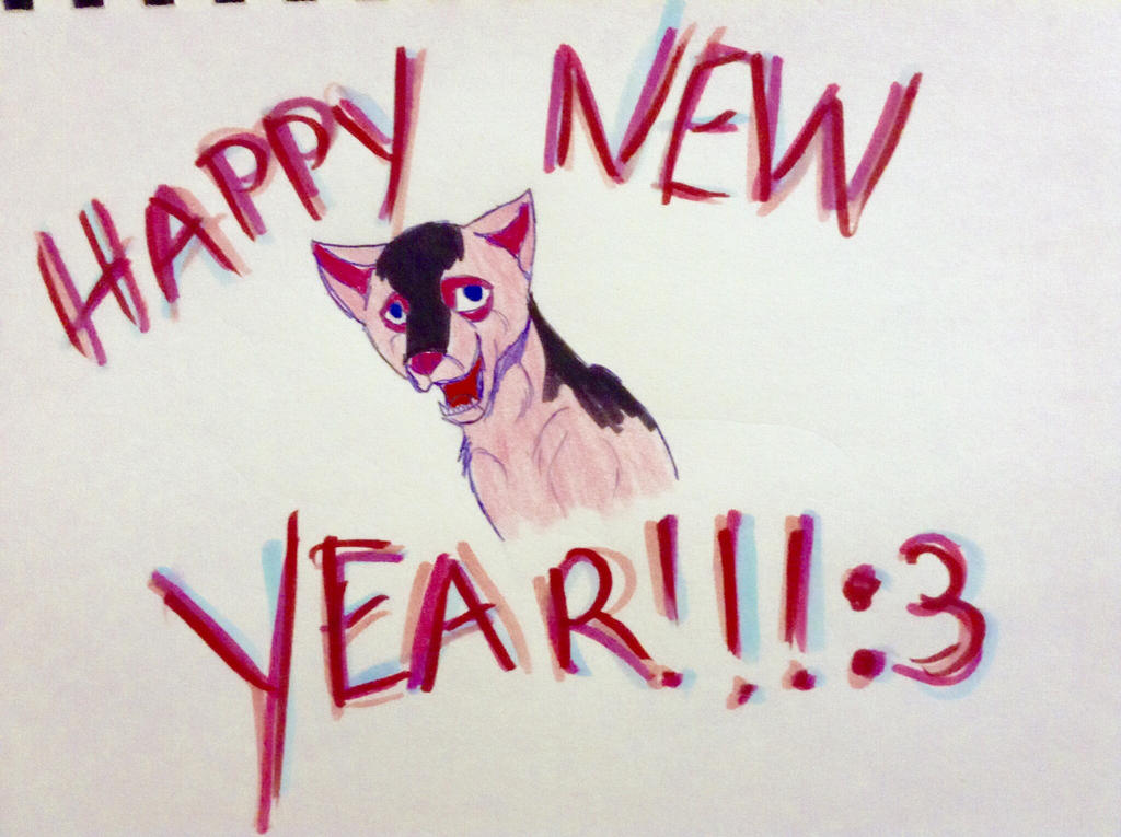 Happy New Years! by yugiohfreakXD