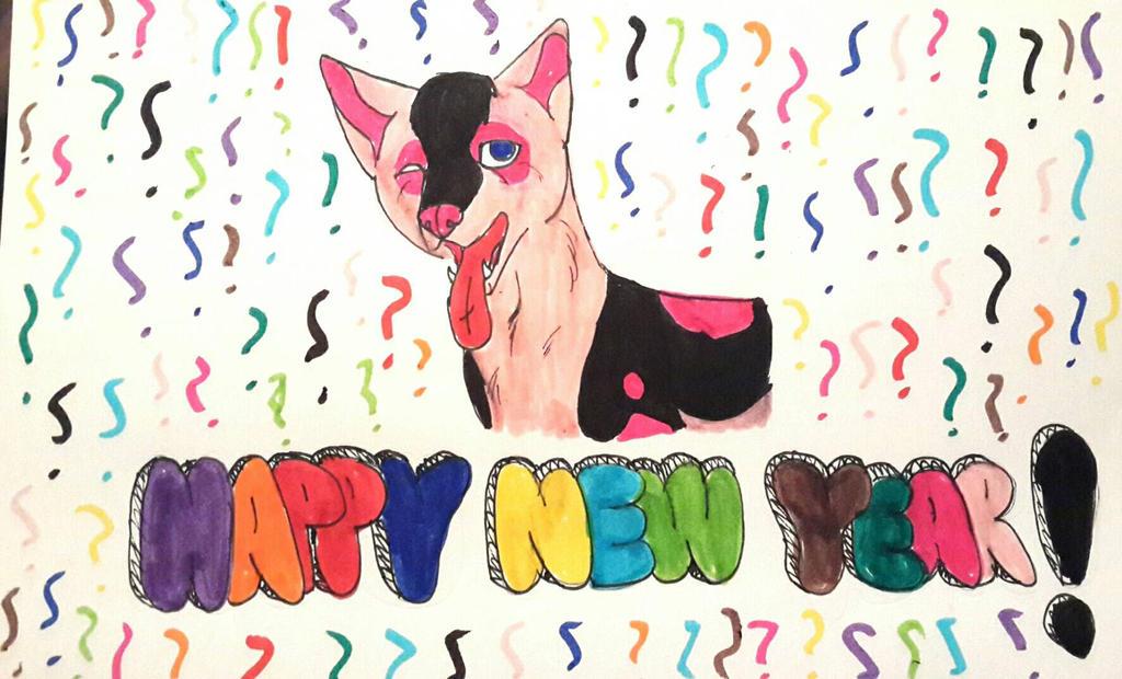HAPPY NEW YEAR!  by yugiohfreakXD