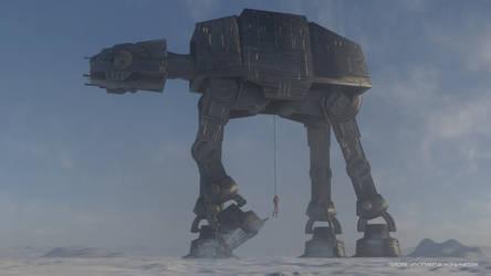 Battle of Hoth by ArtFunart4fun