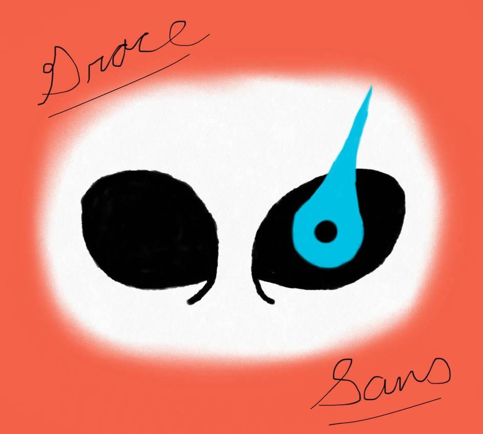 Sans - Blue Eye by GalaxyGal9 on DeviantArt
