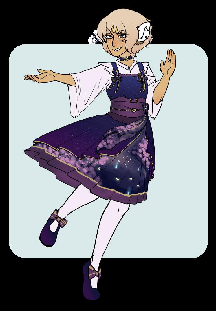 DND: Fancy dress by Growlipsis