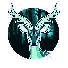 f2u deer pixel by Growlipsis