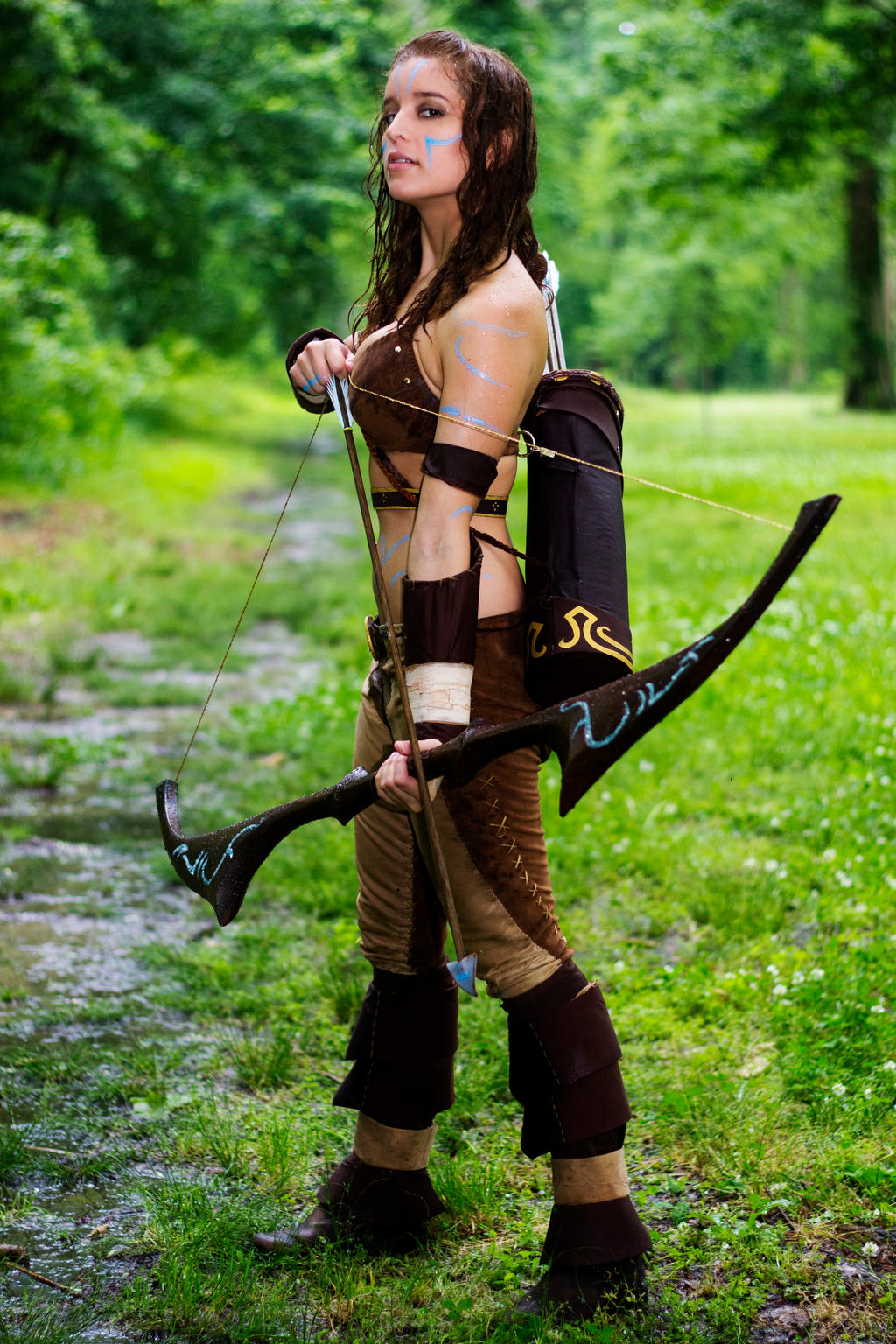 Woad Ashe Cosplay 1 by aeneia