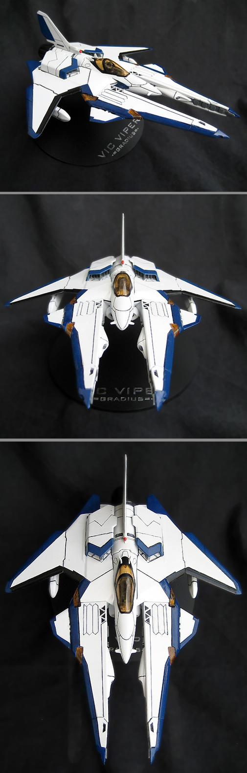 Gradius: Vic Viper Model by shadowvfx