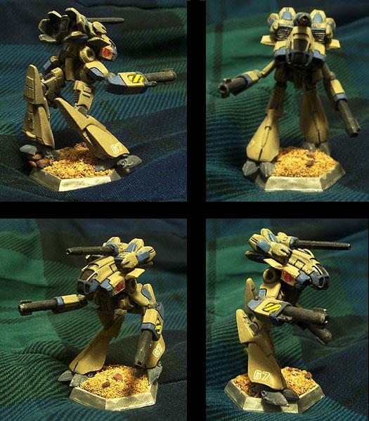 Marauder IIC resculpt mini by shadowvfx